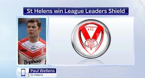 St Helens win league leaders shield