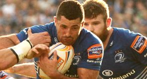 Leinster hit Scarlets for six
