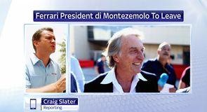 Di Montezemolo to leave Ferrari