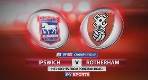 Ipswich 2-0 Rotherham