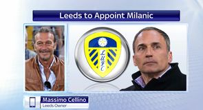 Cellino welcomes Milanic