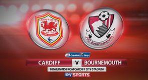 Cardiff 0-3 Bournemouth