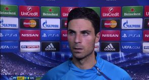 Arteta rues missed chances