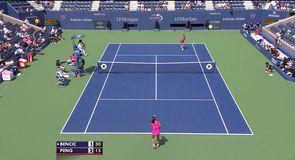 Bencic v Peng - Highlights
