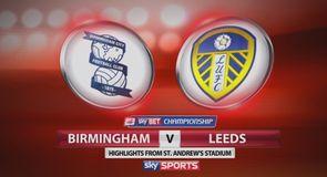 Birmingham 1-1 Leeds