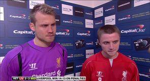Liverpool 2-2 M'boro - Mignolet & Rossiter