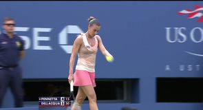 Pennetta v Dellacqua - Highlights