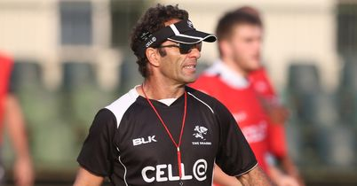 Sharks told to 'man up'