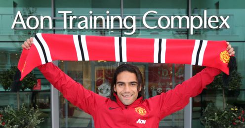 Kevin was surprised Falcao ended up at Manchester United