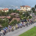 The early parts of Il Lombardia took place on the picturesque shores of Lake Como