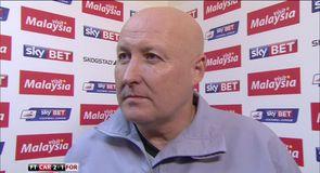 Slade praises Cardiff attitude