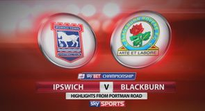 Ipswich 1-1 Blackburn