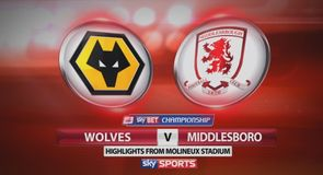 Wolves 2-0 Middlesbrough
