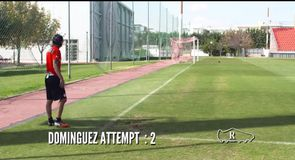 Two-footed corner challenge - Olympiakos