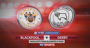 Blackpool 0-1 Derby