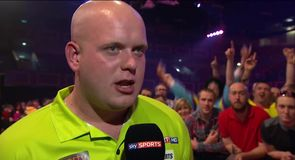 Van Gerwen beats King