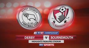 Derby 2-0 Bournemouth