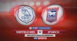Sheffield Wednesday 1-1 Ipswich