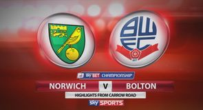 Norwich 2-1 Bolton
