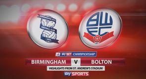 Birmingham 0-1 Bolton