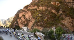 The penultimate stage was a day of tough but picturesque climbing for the peloton