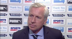 Newcastle v Leicester - Pardew