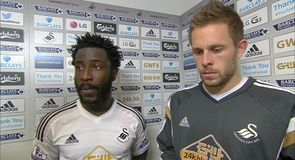 Bony double wins it for Swansea