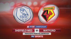 Sheff Wed 0-3 Watford