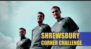 Two-footed corner challenge - Shrewsbury Town
