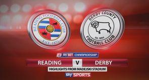 Reading 0-3 Derby