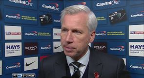 Pardew praises 'outstanding' side
