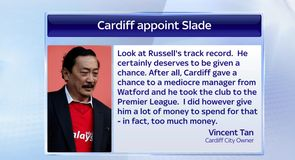 Slade appointed Cardiff boss