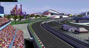 Sochi Grand Prix Circuit flyover