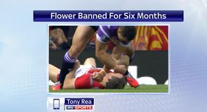 Rea: Flowers ban 'on the money'