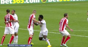 Contentious penalties at Stoke?