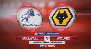 Millwall 3-3 Wolves