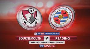 Bournemouth 3-0 Reading