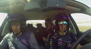 Vettel on Sochi Grand Prix Circuit