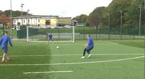 Bradford City Youth Academy rabona challenge
