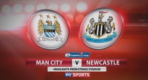 Man City 0-2 Newcastle