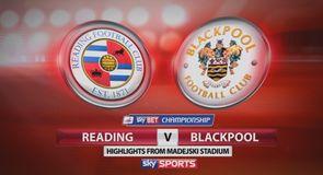 Reading 3-0 Blackpool