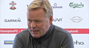 Koeman not getting carried away