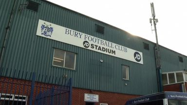 Bury eyeing promotion