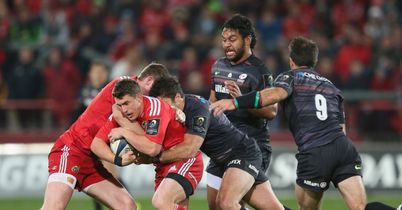 Gill yellow sinks Sarries in Munster