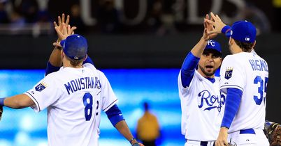 BASEBALL KANSAS CITY ROYALS WORLD SERIES