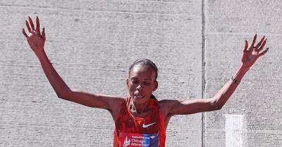 Rita Jeptoo Chicago marathon Kenya
