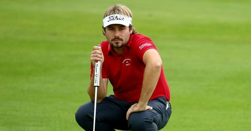 Dubuisson embracing favourite tag