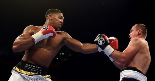 Watt: Joshua belts up