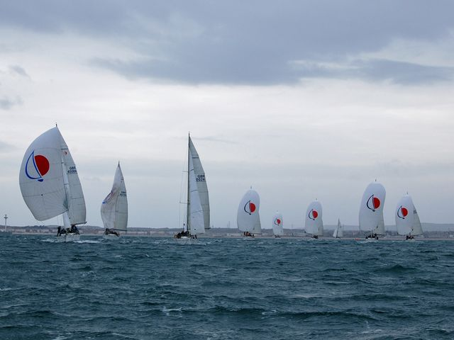 Team Sky joined forces with British Sailing to experience a day on the waves in Weymouth