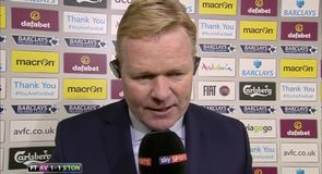 Koeman frustrated by draw